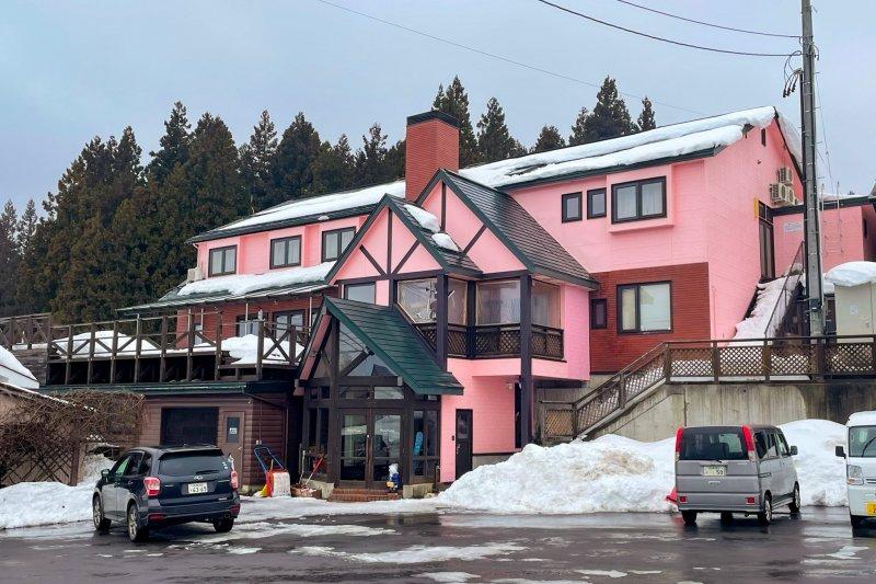 The guest house ALPINE VILLAGE