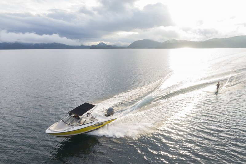 Motor Boat Charters in Inawashiro Lake