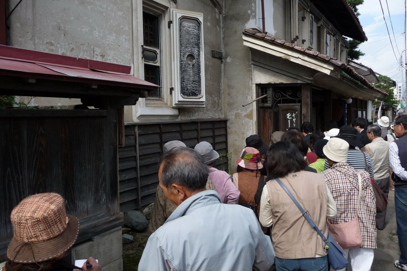 Everything in the town is fascinated by the charm of Kitakata