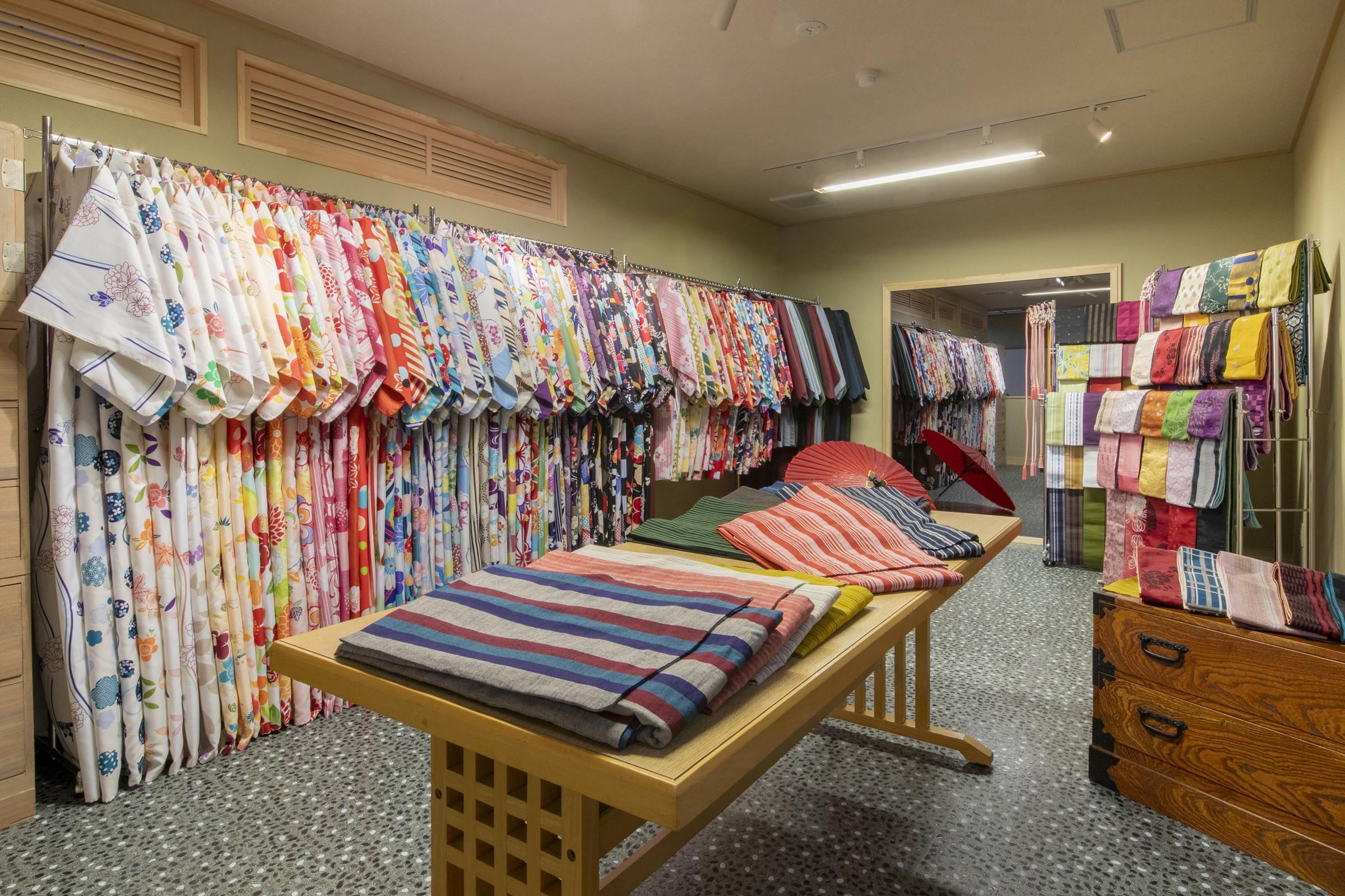 [Kimono rental corner]